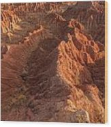 Stunning Red Rock Formations Wood Print