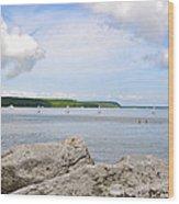 Sturgeon Bay In Summer Wood Print