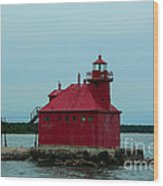 Sturgeon Bay Lighthouse Wood Print