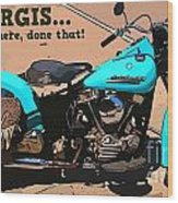 Sturgis Motorcycle Rally Wood Print