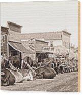 Sturgis South Dakota C. 1890 Wood Print