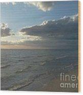 Subdued Sunset Wood Print