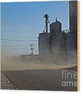 Sublette Dust Storm Wood Print
