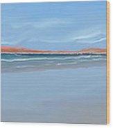 Sublime Beach Panoramic Wood Print