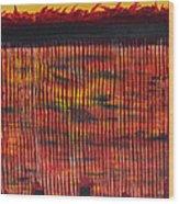 Subterranean Skyline Wood Print