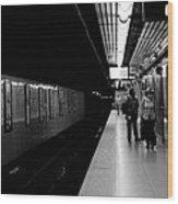 Subway Wood Print by BandC  Photography