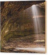 Subway Falls Wood Print