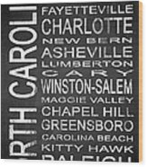 Subway North Carolina State 1 Wood Print