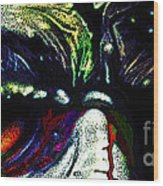 Such Zombie Eyes Wood Print