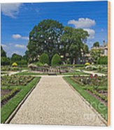 Sudeley Castle Gardens In The Cotswolds Wood Print