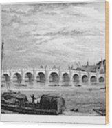 Suez Canal, 1894 Wood Print