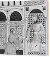 Sugar, 14th Century Wood Print