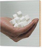 Sugar Consumption Wood Print