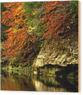 Sugar Creek Wood Print