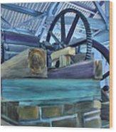 Sugar Mill Gizmo Wood Print