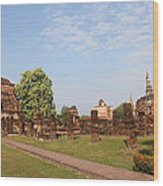 Sukhothai Historical Park - Sukhothai Thailand - 011344 Wood Print