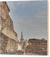 Sukhothai Historical Park - Sukhothai Thailand - 01138 Wood Print