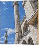 Suleiman Mosque 08 Wood Print