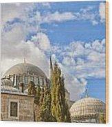 Suleiman Mosque 18 Wood Print