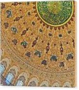 Suleiman Mosque Interior 08 Wood Print