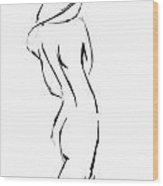 Sulking Susan  Wood Print