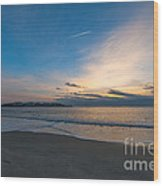 Sullivan's Island Sc Sunrise Wood Print