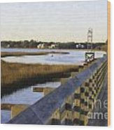 Sullivan's Island To Old Village Wood Print
