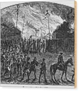 Sullivans March, 1779 Wood Print