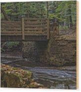 Sulphur Springs Bridge Wood Print
