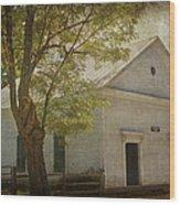 Sulphur Springs Methodist Church Wood Print