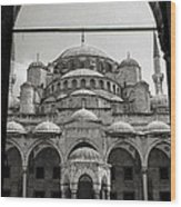 Sultan Ahmed Mosque Wood Print