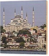 Sultan Ahmet Camii Wood Print