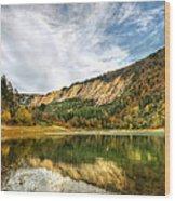Suluklu Lake Wood Print