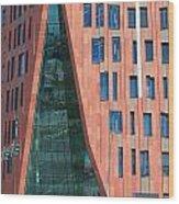 Sumatrakontor Portal Hafencity Wood Print