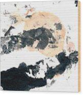 Sumi Abstract Wood Print