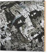 Sumi-e 130425-1 Wood Print