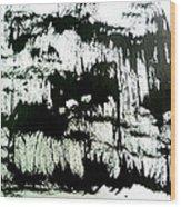 Sumi-e 130425-4 Wood Print
