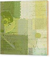Summer 2014 - J103155155m04-green Wood Print