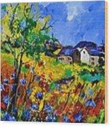 Summer 673180 Wood Print