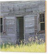 Summer At Captain Ed's Homestead Wood Print