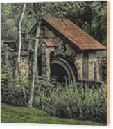 Summer At Eastern College - Radnor Pa Wood Print
