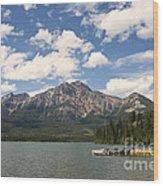 Summer At Pyramid Lake Wood Print