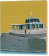 Summer Boat Ride 02 Walt Disney World Wood Print