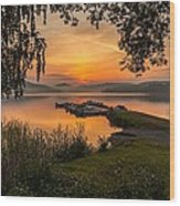 Summer Breeze Wood Print by Rose-Maries Pictures