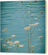 Summer By The Lake 2 Wood Print