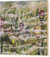Summer Eden Wood Print