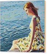 Summer Eve Wood Print