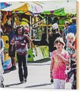 Summer Fair-12 Wood Print
