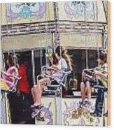Summer Fair-8 Wood Print