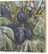 Summer Figs II Wood Print